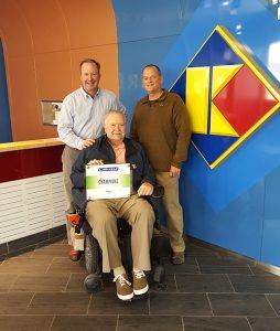 Kirberg Roofing FleeceBack Champions Award