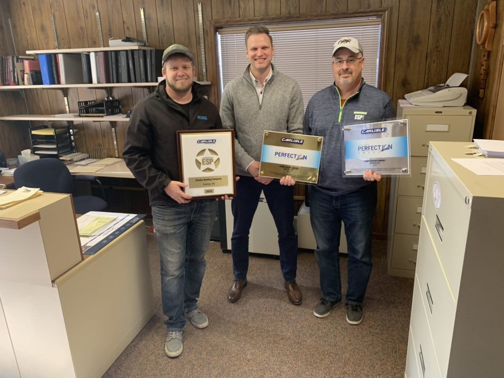 Ziemba Roofing Receives 3 CCM Awards
