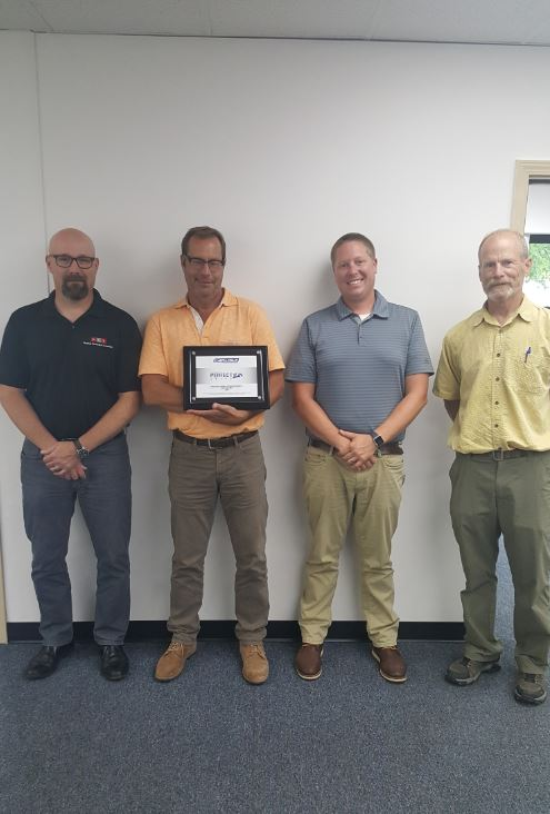 RSS Tecta Receives Carlisle Perfection Award